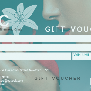 Gift voucher for skin & beauty clinic in Geelong